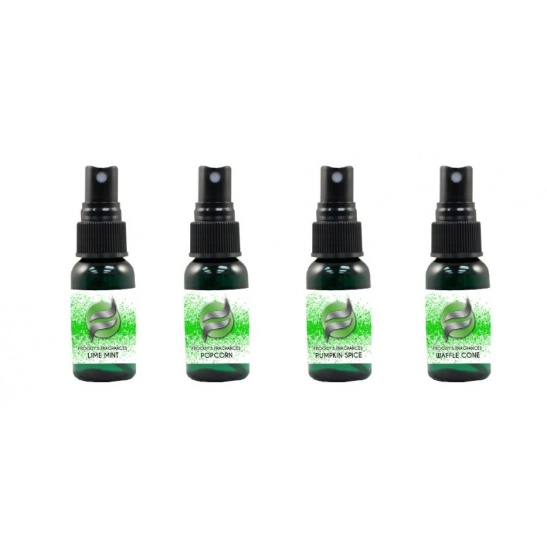 Scent Spray Sampler - Pleasant, Neutral and Stinky- froggy's Fog