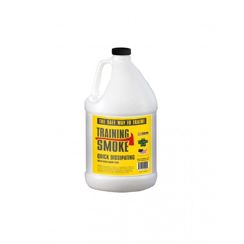 Training Smoke Q - Water Based, Quick Dissipating Smoke Fluid - 1 Gallon