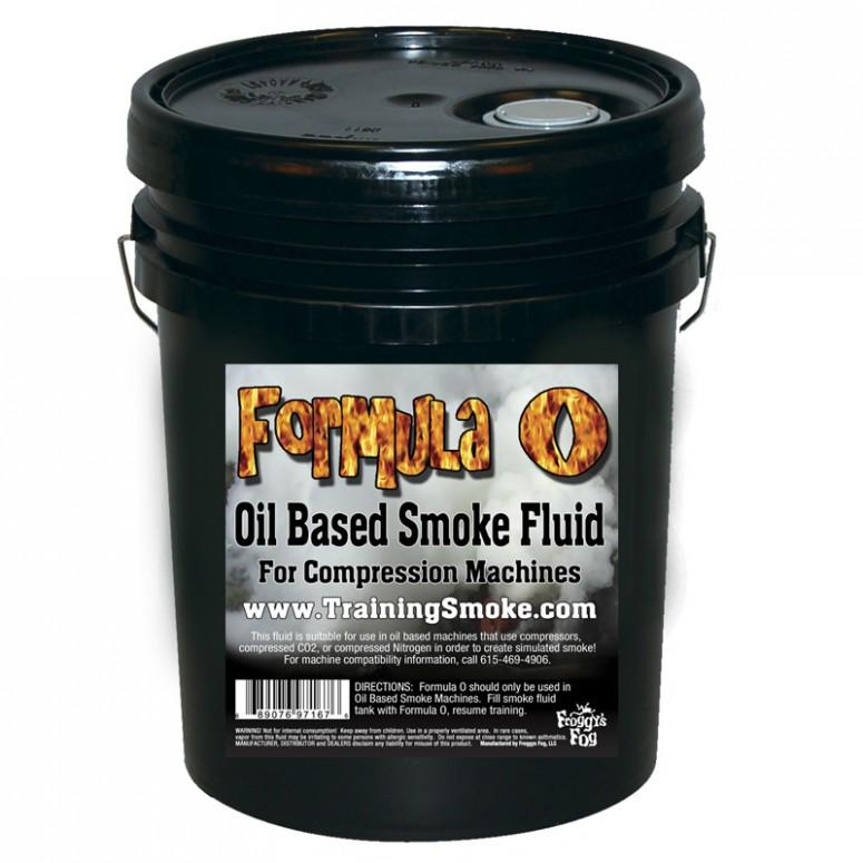 TrainingSmoke - Formula O Oil Based Smoke Fluid - 5 Gallon Pail