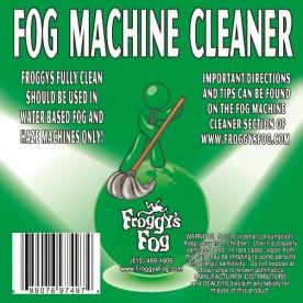 Fog Machine Cleaner - Froggy's Fully Clean