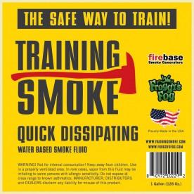 Training Smoke Q - Water Based, Quick Dissipating Smoke Fluid