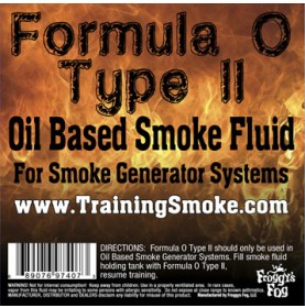TrainingSmoke - Formula O Type 2 Oil Based Smoke Fluid