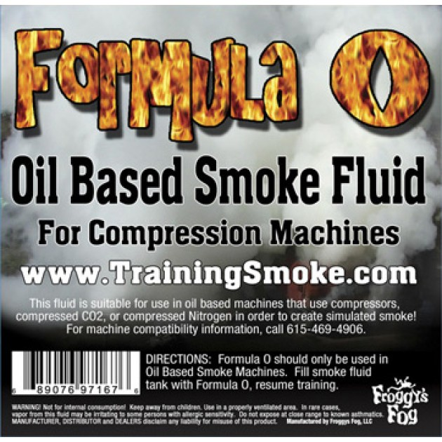 TrainingSmoke - Formula O Oil Based Smoke Fluid
